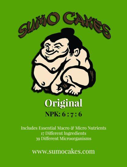 Sumo Cakes® Original Front Label