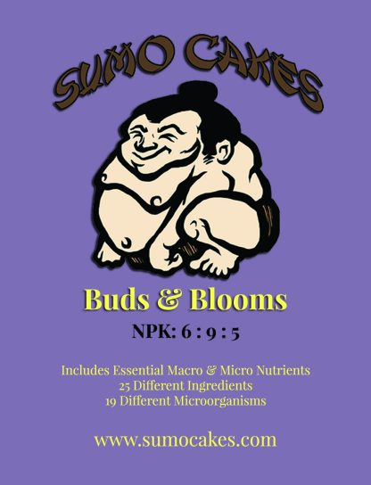 Sumo Cakes® Buds & Blooms Front Label