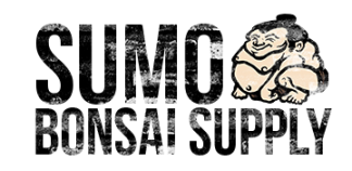Distressed Sumo Bonsai Supply Logo